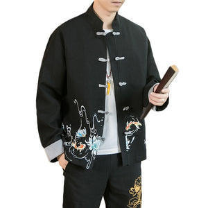 Portrait pond Tang jacket