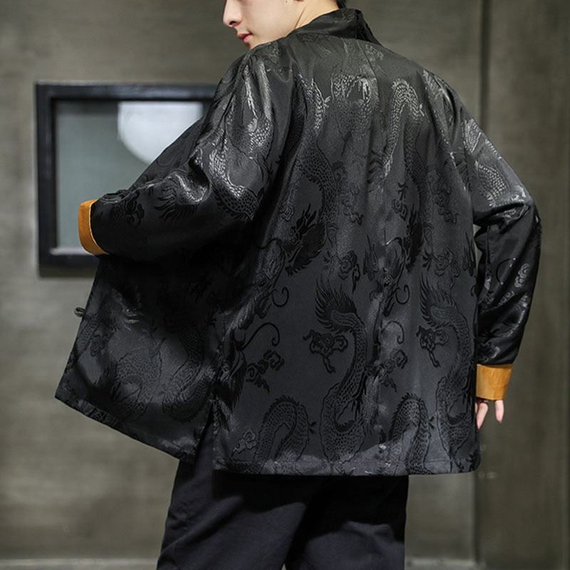 Vibrant shadow claw Tang Dynasty jacket