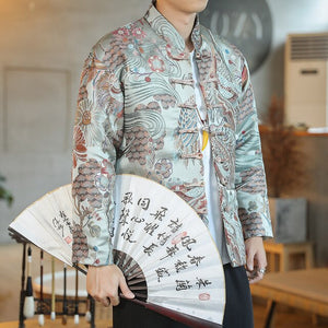Ancient crane Tang Dynasty jacket