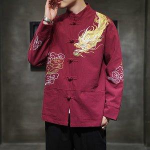 Dragon cloud Tang Dynasty jacket