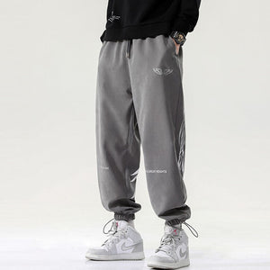 Angel wings street jogger pants