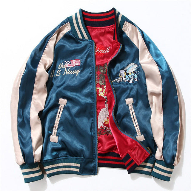 2 sided East meets West Sukajan jacket