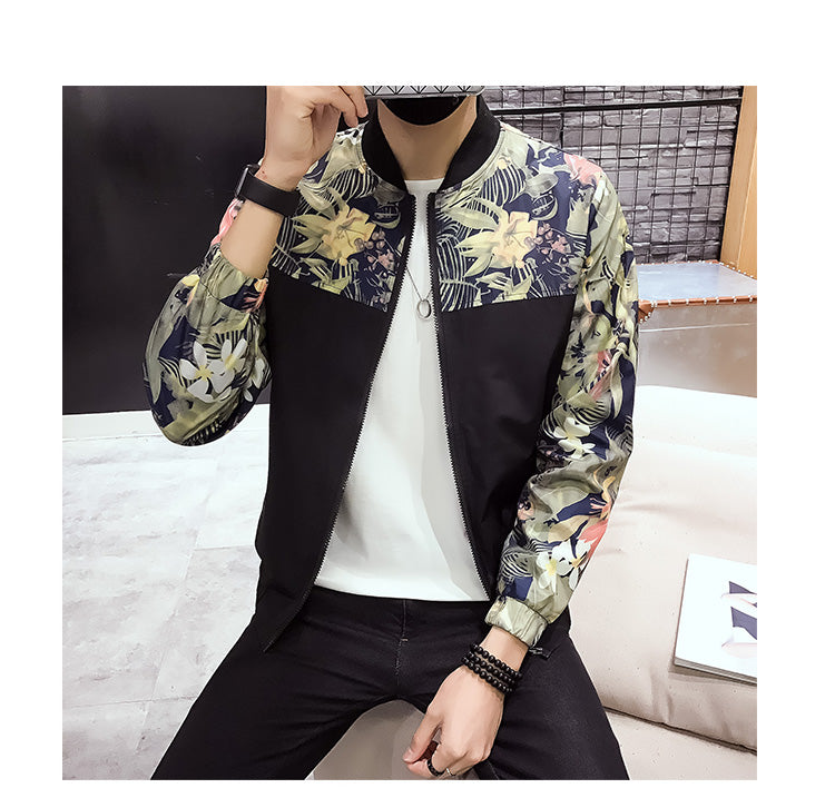 """Tropical"" designer jacket"