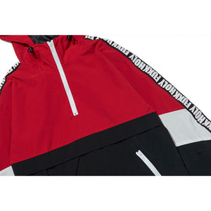 Urban hooded track jacket