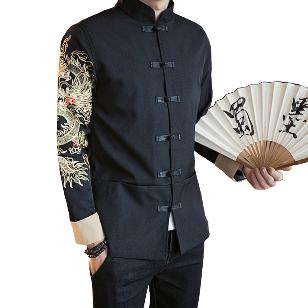 Tang Dynasty dragon sleeve jacket