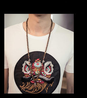 Ancient meets modern T-shirt Chinese lion