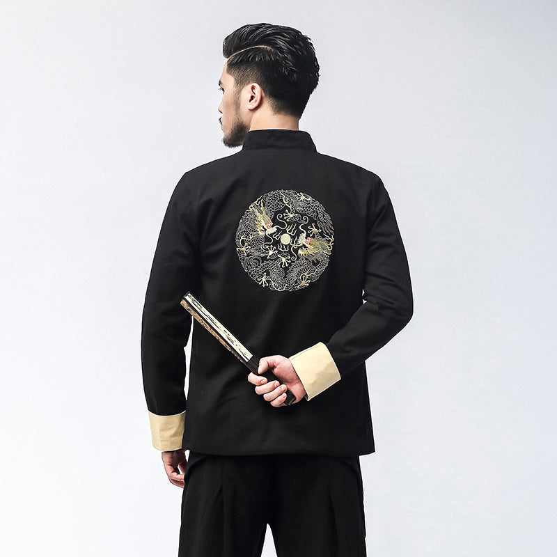 Chinese feng shui embroidery jacket