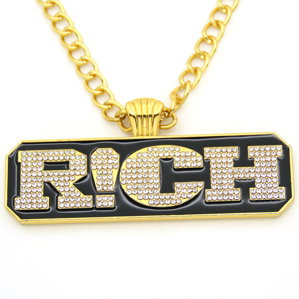 The rich necklace