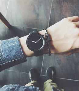 Minimalism solid face watch
