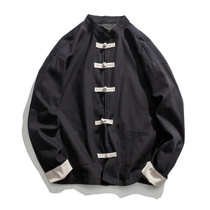 Retro solid Tang Dynasty jacket