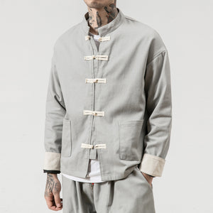Retro solid Tang Dynasty jacket II