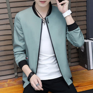 Solid designer jacket