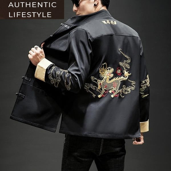 Golden lion Tang jacket