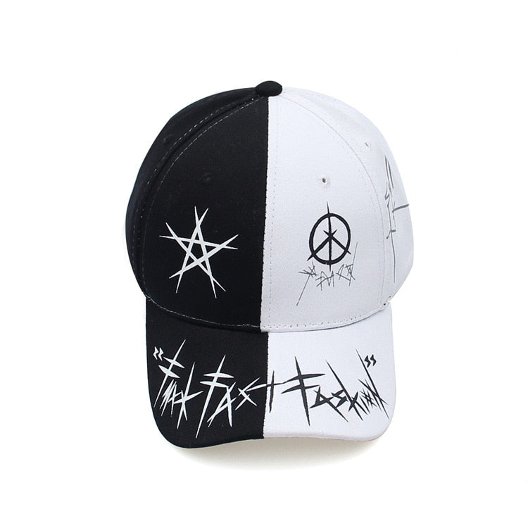 High street graffiti cap