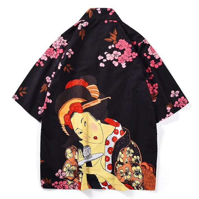 Tradition Asian beauty kimono