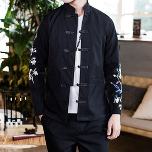 Branch sleeve Tang jacket