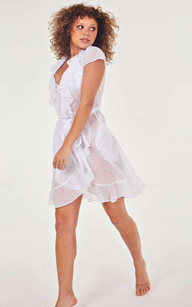 Cupid wrap dress
