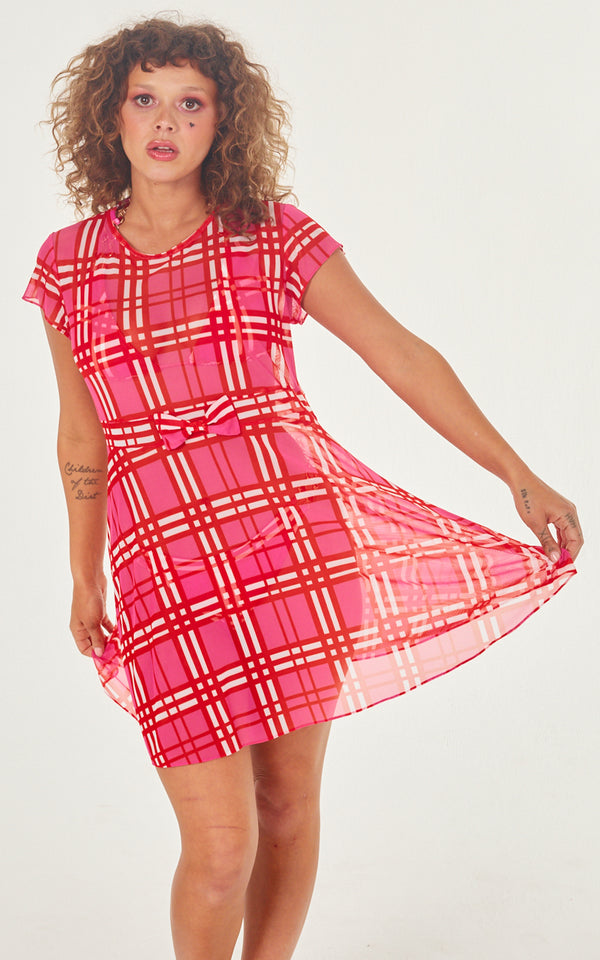 swimsuit cover up plaid
