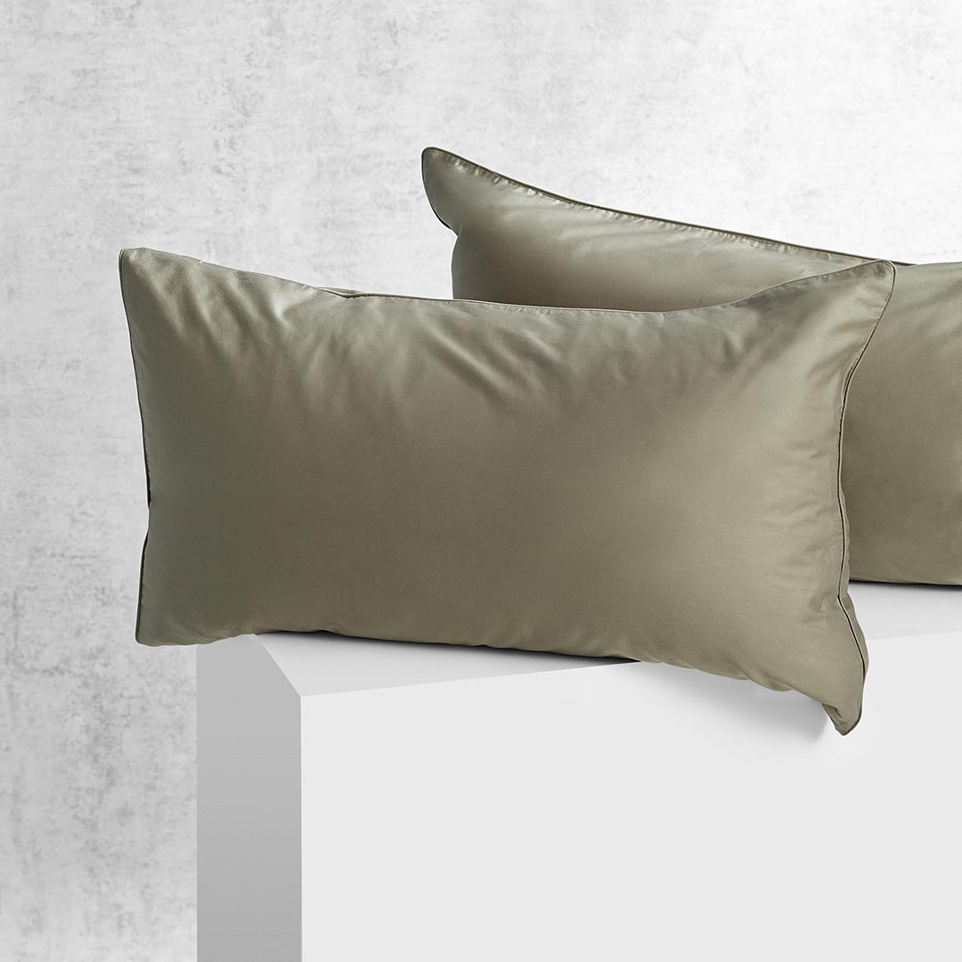 Eden Pillowcases - Moss