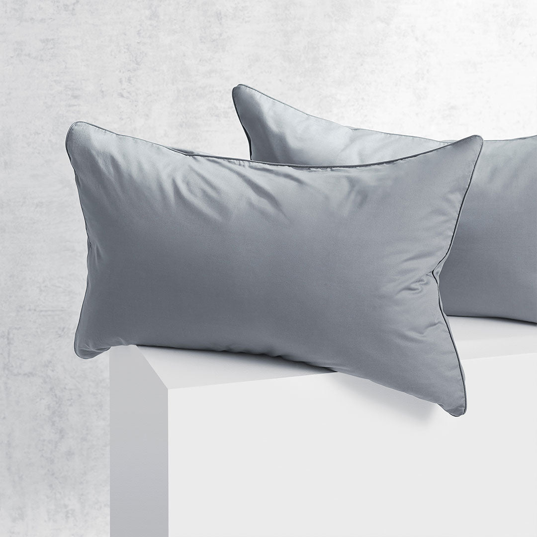 Eden Pillowcases - Charcoal