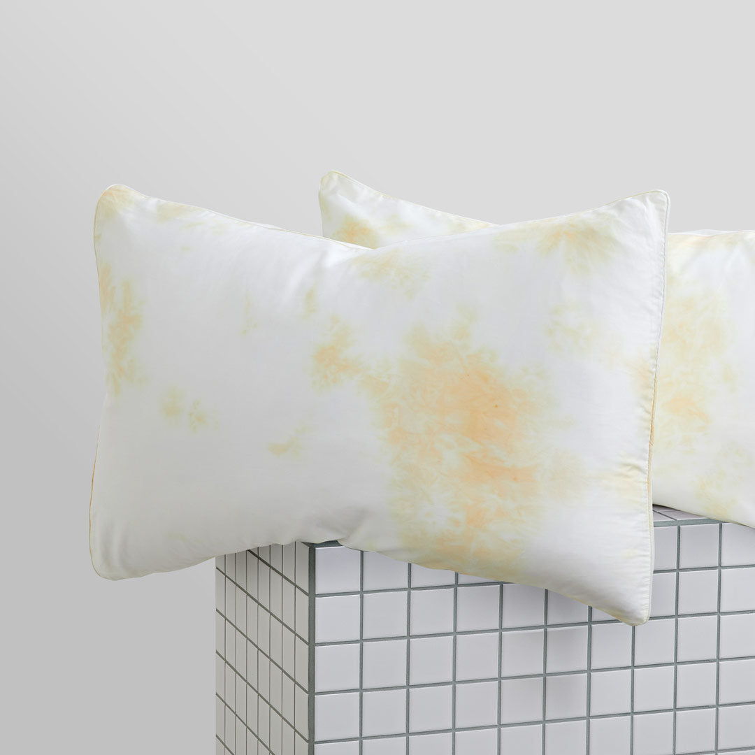 Tie-Dye Pillowcases - Butter