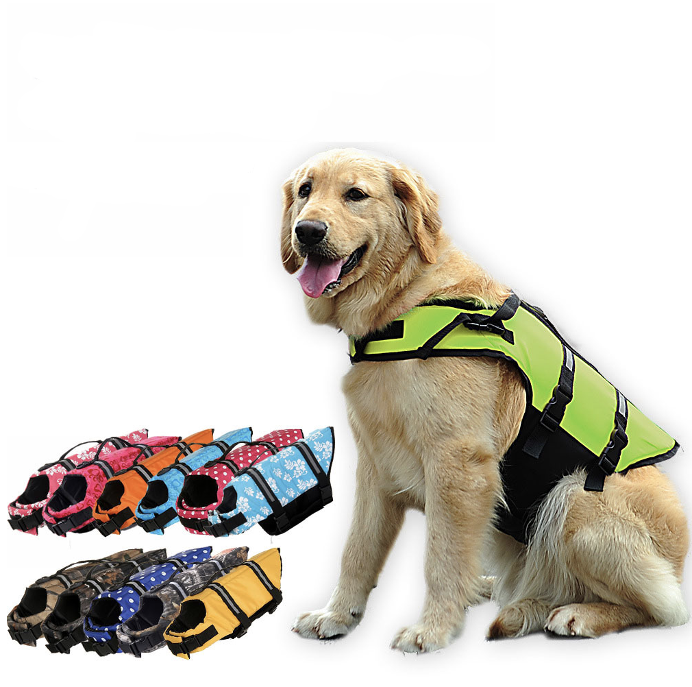 Summer Dog Floating Swimming Vest