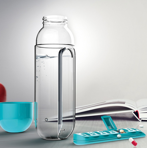 Pill Holder Water Bottles