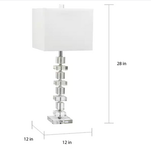 Lighting Crystal 28-inch Table Lamp (Set of 2)