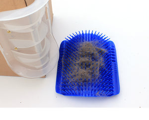 Cat Self Grooming Wall Edge Comb
