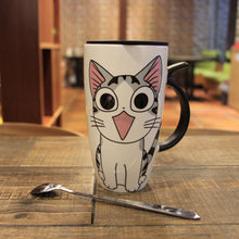 Load image into Gallery viewer, Adorable Cat Coffee Mug (600 mL)