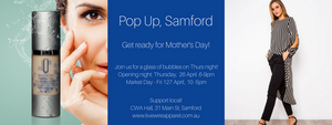 Pop Up, Samford; it's back in April!