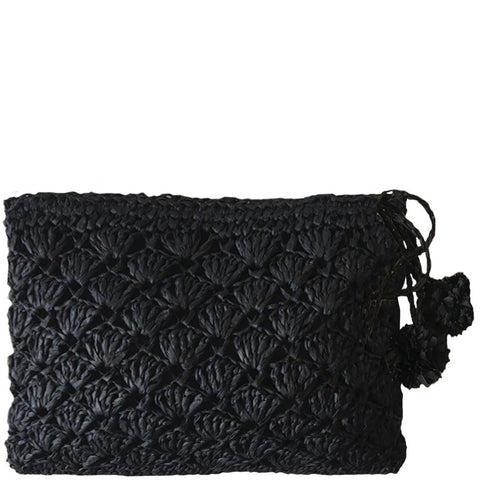 Clutch - Sea Weave Black
