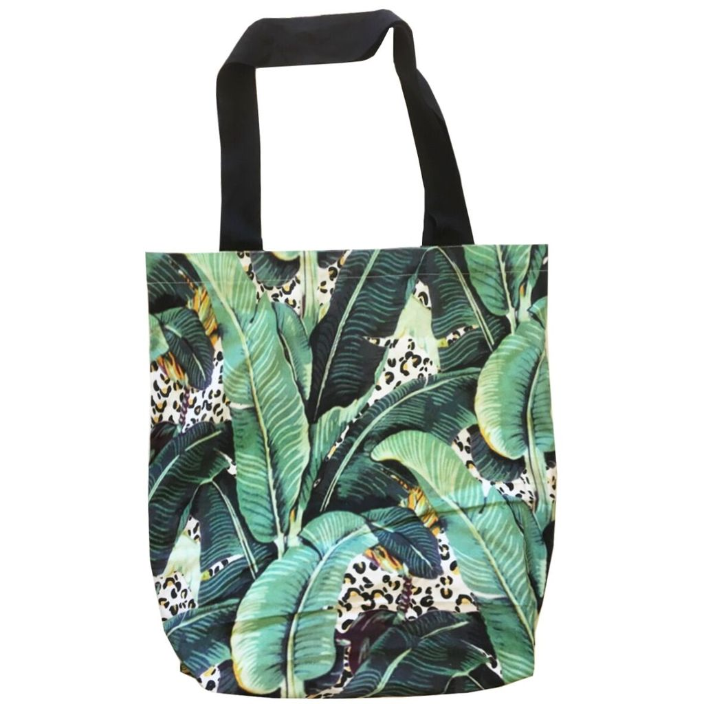 Oversized Tote - Jungle Kitty
