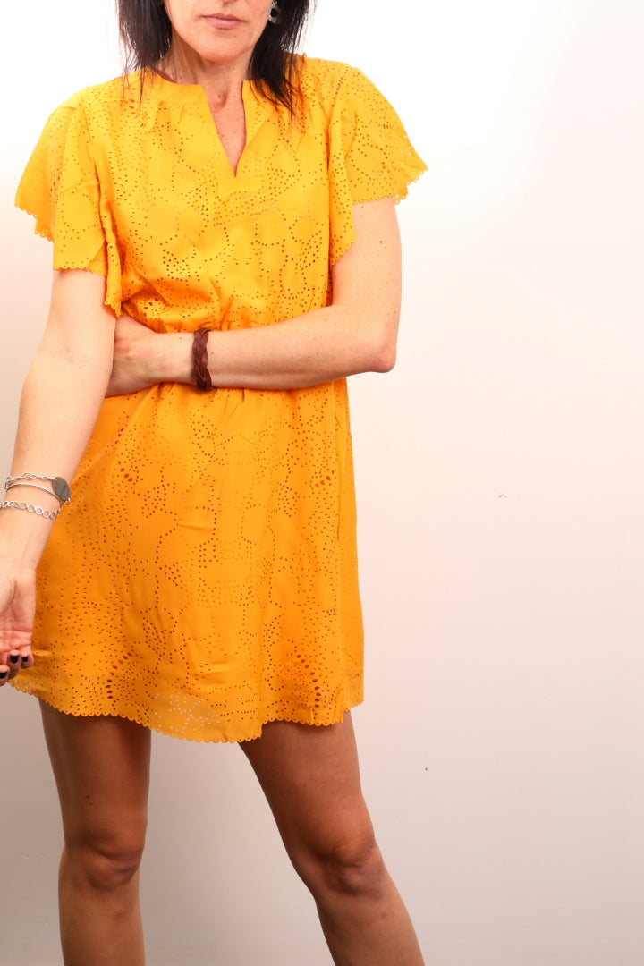 Live Wire Apparel Live Wired Sunflower Dress Boho Summer lets go dancing dress