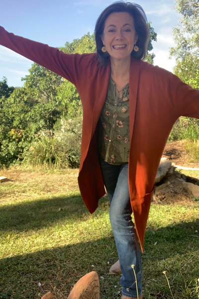 Long Cardigan - Burnt Orange