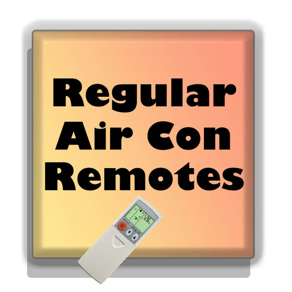 Regular AC Remotes