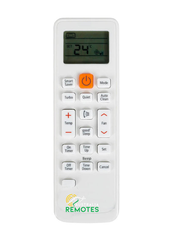 Samsung Air Conditioner Remote  ARH-454, ARC-701, ARC-740 ARH-454 DB93-11489L DB63-02827A DB93-11115U DB93-11115K KT3X002 KT3X00