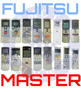 fujitsu air conditioner remote control