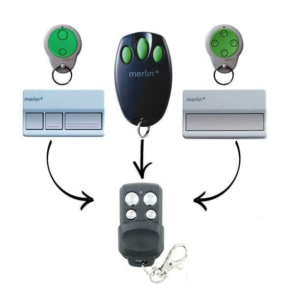Merlin+ C945 CM842 C940 C943 Plus Remote | Merlin+ C945 CM842 C940 C943 Plus Remote | Australia Remotes | garage door remotes, Merlin