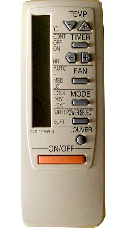 Brand new Replacement Remote for Haier Air Conditioners (as pictured) Works on: CAR-13PUN CAR-23PVFUN KFR-32G/A