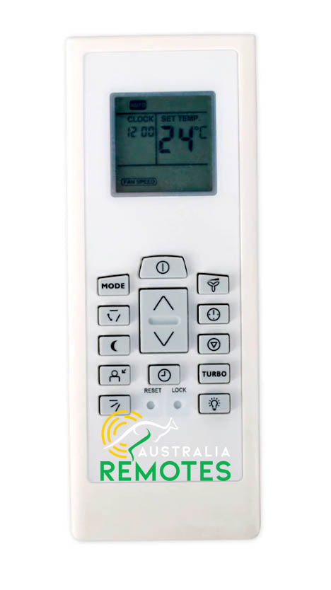 Kelvinator RG01 Air Conditioner Remote