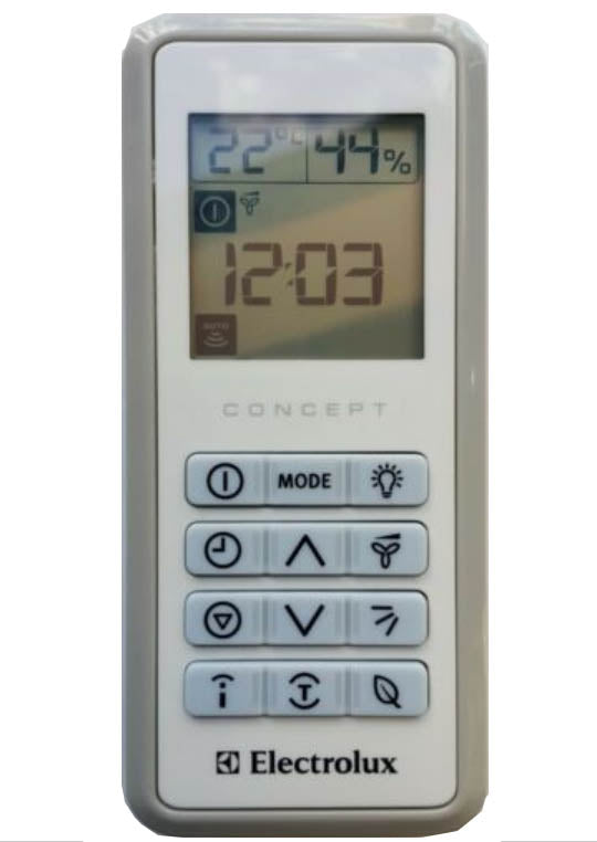 Kelvinator RG03 Air Conditioner Remote