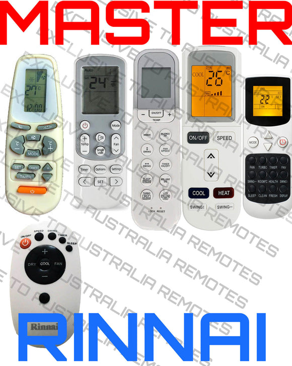 Rinnai Universal Air Conditioner Remote