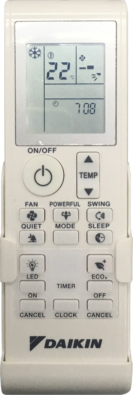Replacement Daikin Air Conditioner Remote: FTX46KBMA