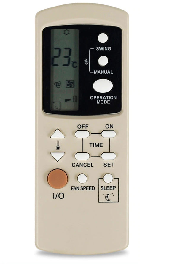 NEC NSC250F, NSC510F Nsr250f NSR510F air conditioner remote