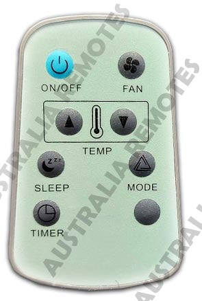 Air Conditioner Remote for Heron Models that start with HCQ