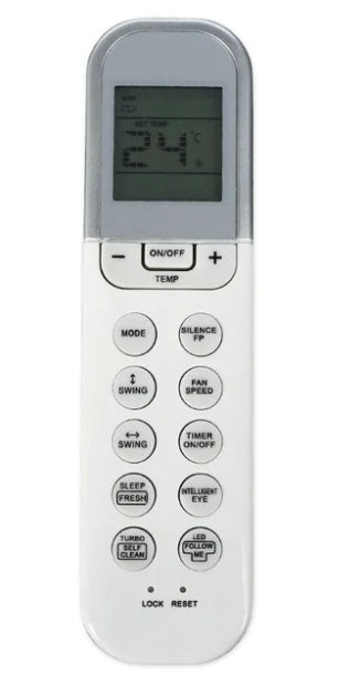 Midea Air Conditioner Remote