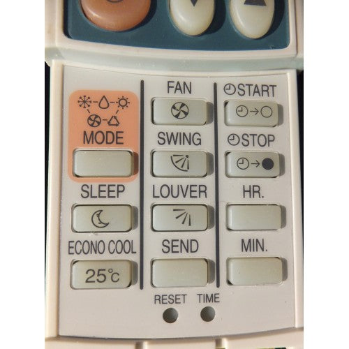 Air Con Remote for Heron Q Model: RV