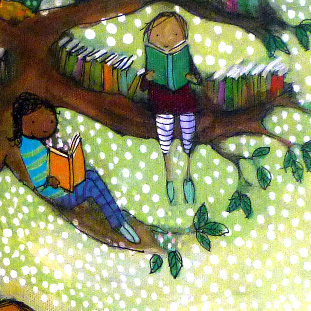 Tree of Books - Archival Print