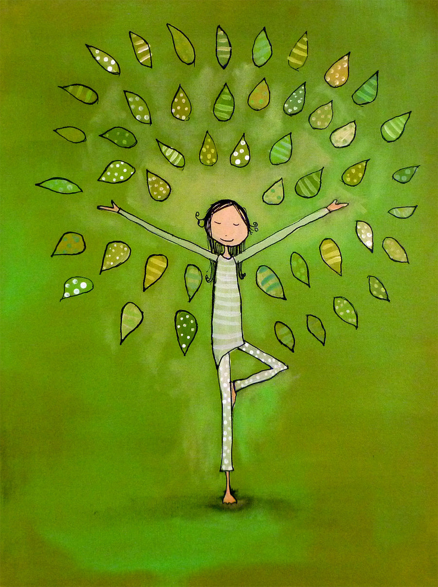 Tree Pose - Archival Print